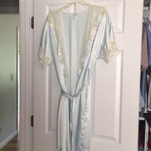 Vintage Sara Beth polyester house coat